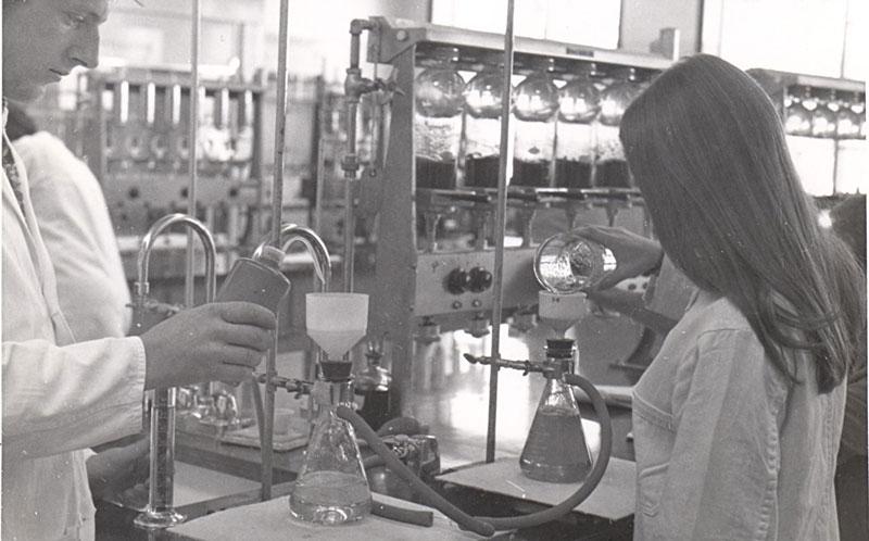 Laboratoire au début de l'ITA