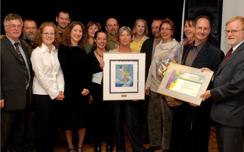 Prix du Ministre remis aux Exceptionnelles en 2007