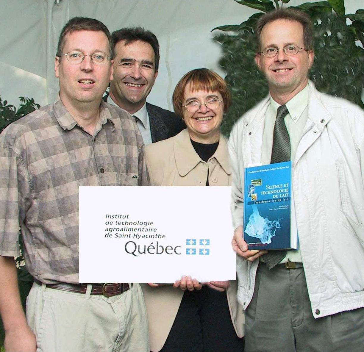 Lancement du livre Science et technologie du lait, Équipe TPQA