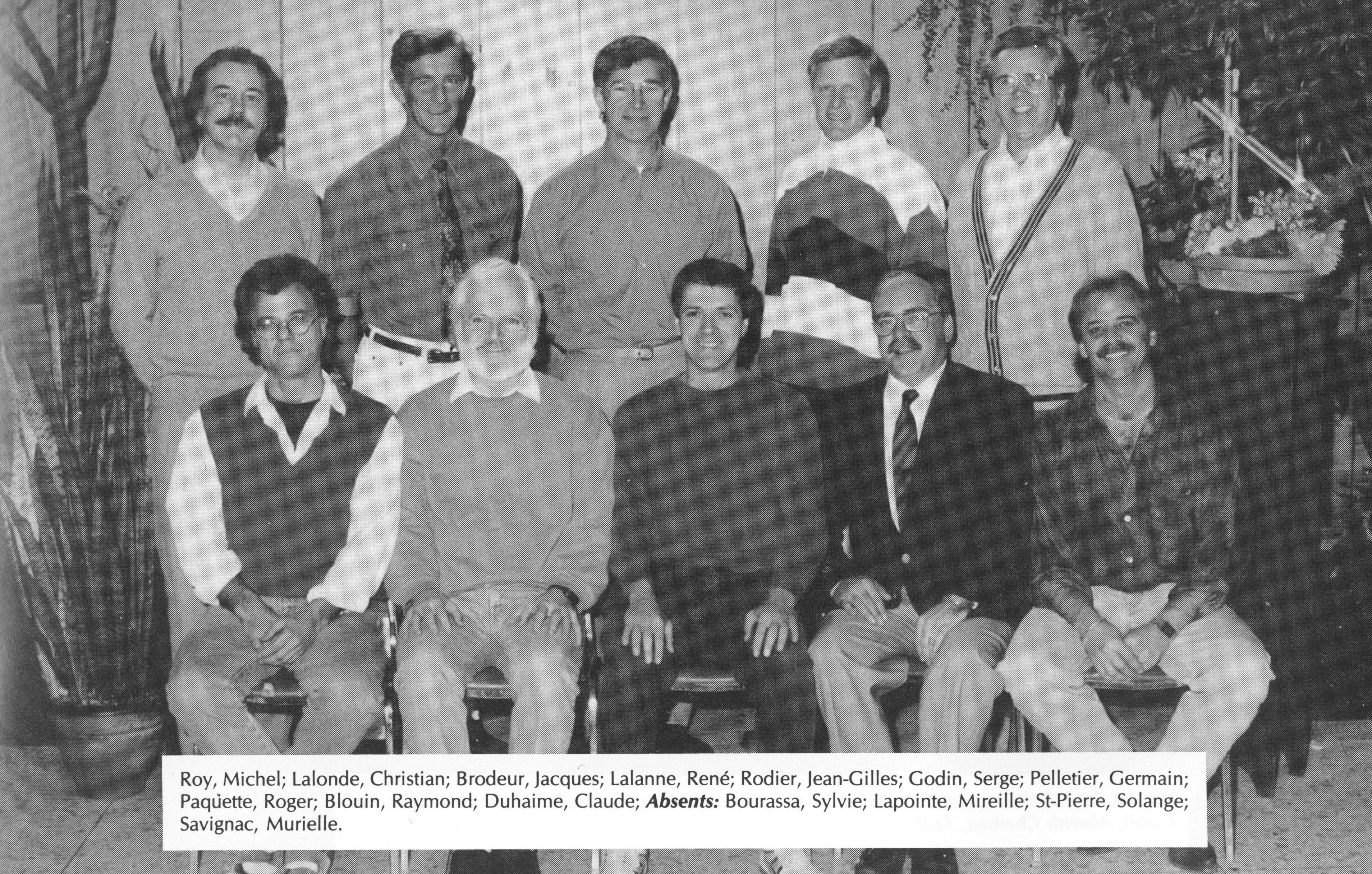 1994 Équipe de la Formation générale