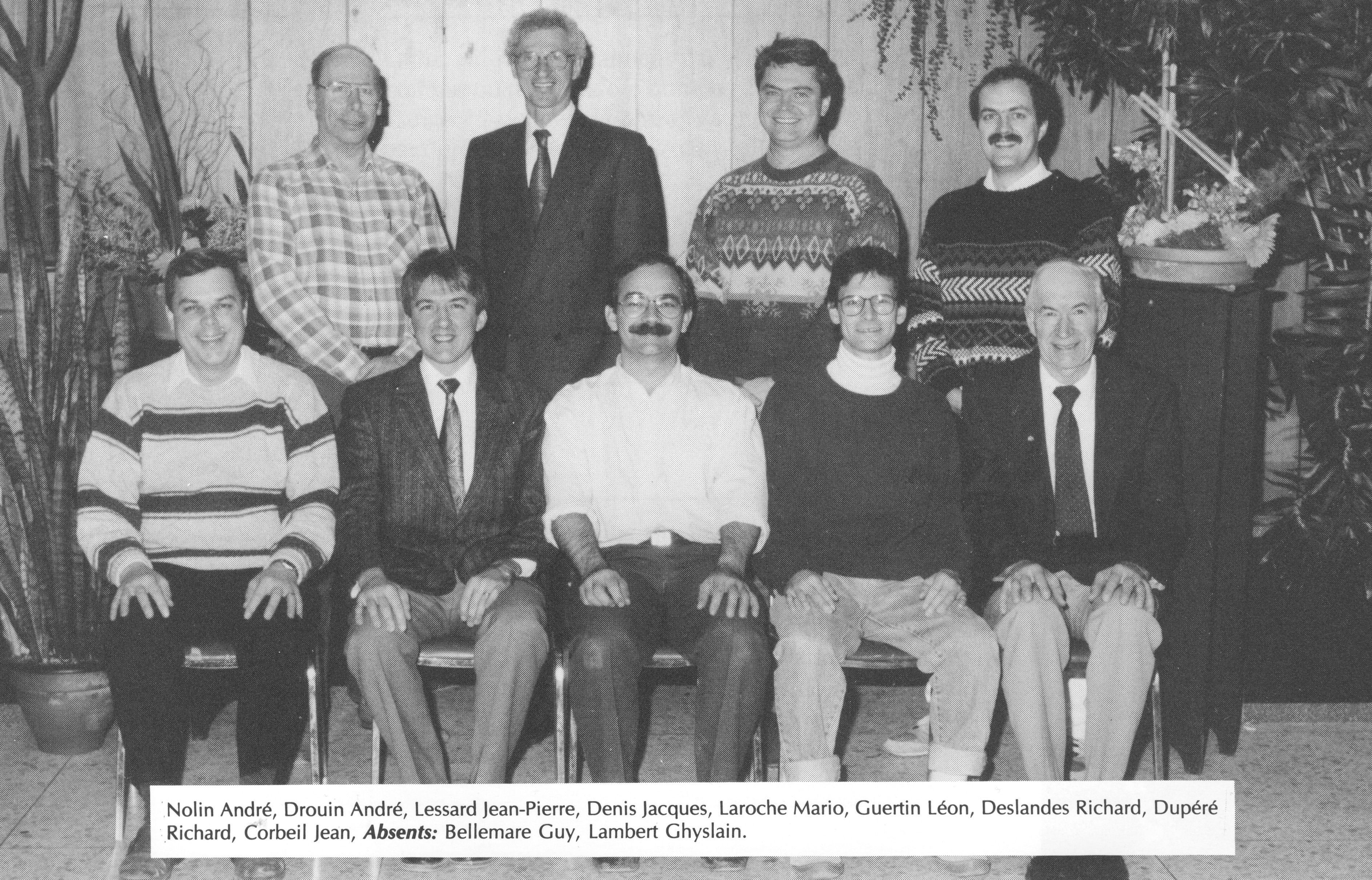 1994-Genie Rural-André Nolin-André Drouin-Jean-Pierre Lessard-Jacques Denis-Mario Laroche-Léon Gu