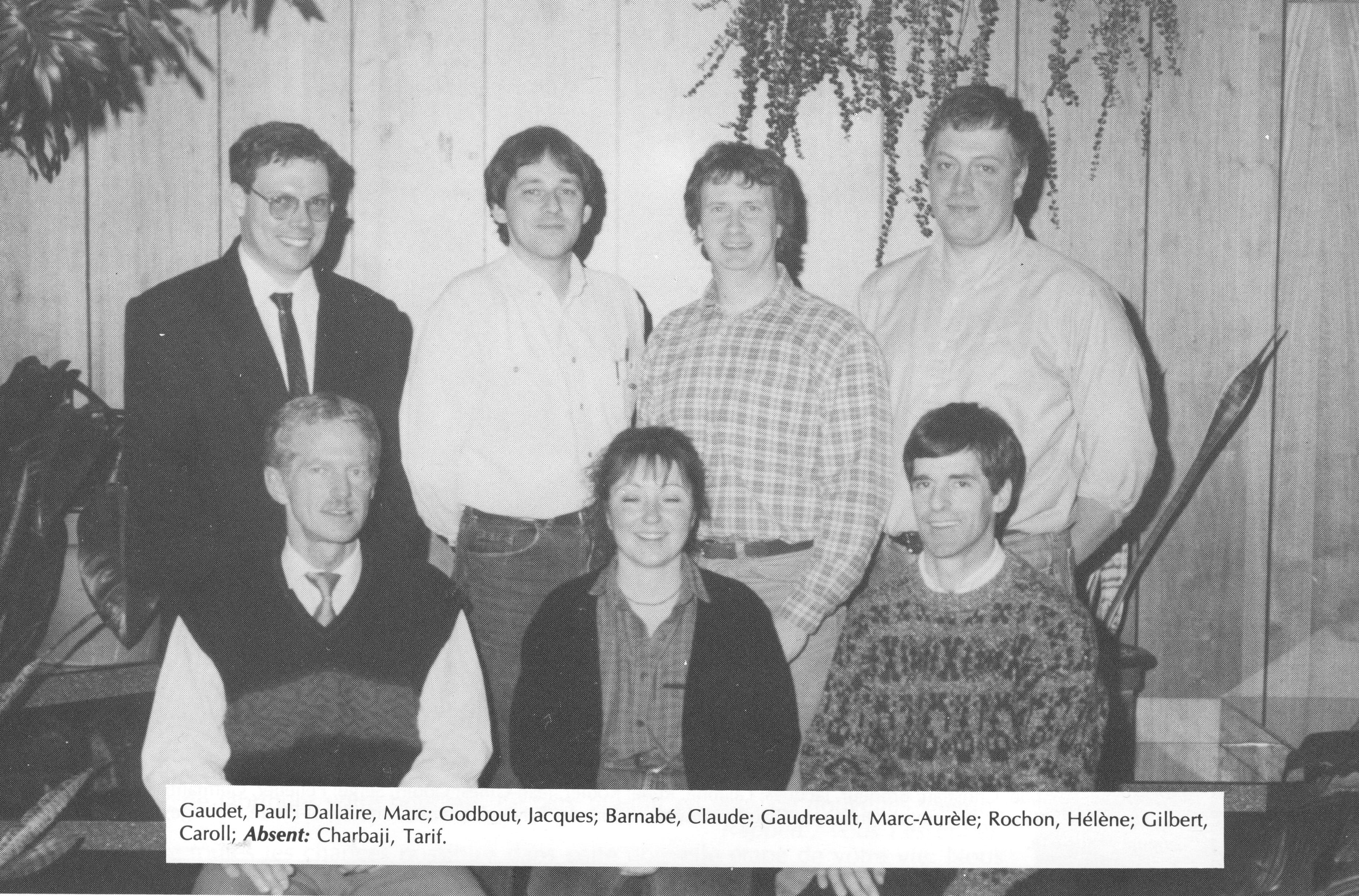 1994-Zootechnologie-Paul Gaudet-Marc Dallaire-Jacques Godbout-Claude Barnabé-Marc-Aurele Gaudreau