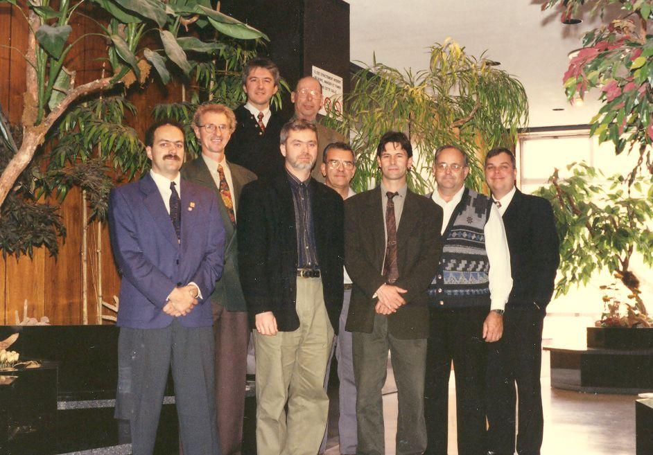 1997-Jacques Denis-Jean-Pierre Lessard-Richard Dupéré-Bernard Cayer-Mario Laroche-André Douin-Fra
