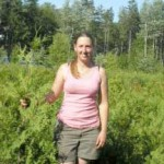 Audrey Piché, diplômée en TPHE (spécialisation en culture de plantes ornementales) en 2002